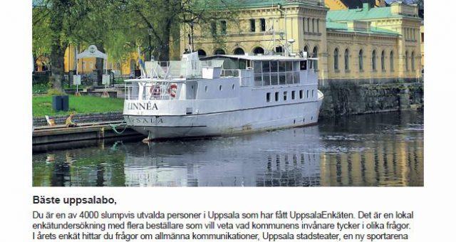 "Tack ""Provos Research"" i Uppsala"