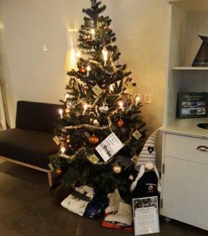 "RoslagsBlomman´s  julgran på ""Marholmen Hotell o Konferens"""